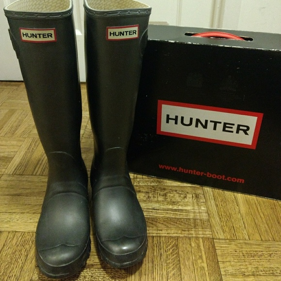 0eb37bd84c2 Original Tall Hunter Boots in Pewter